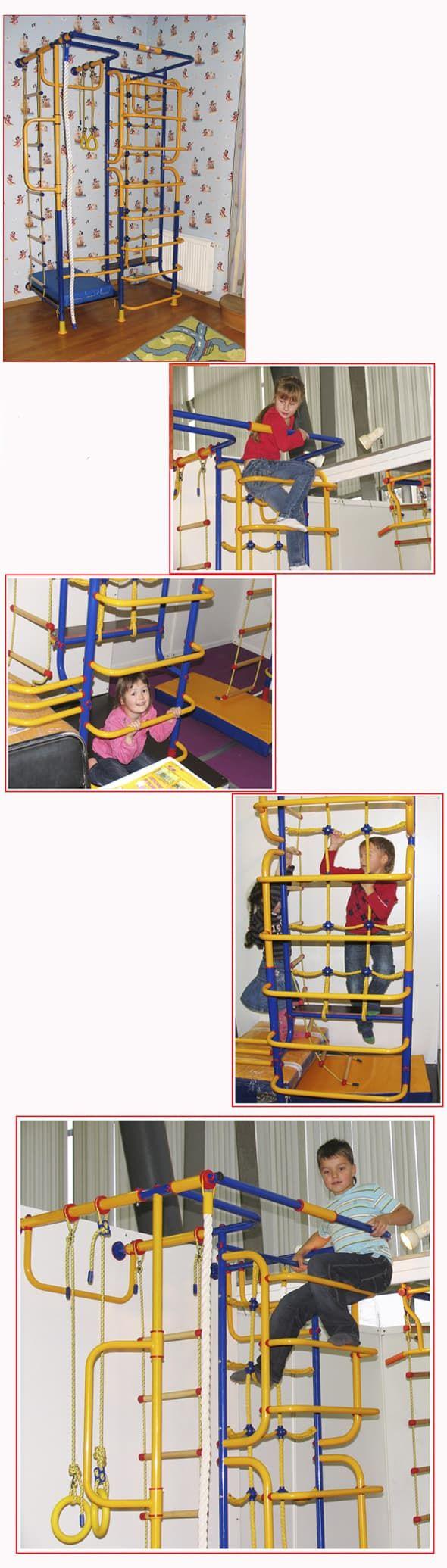 """Детский спортивный комплекс """"Зодиак"""" (крепление к стене) - Мобильная версия RDK.RU"""